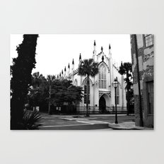 The French Protestant (Huguenot) Church Canvas Print