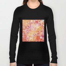 Rome map Long Sleeve T-shirt