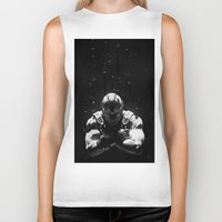 bane Biker Tanks featuring Bane by Sam Rowe Illustration
