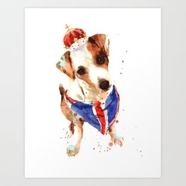 The Union Jack Art Print