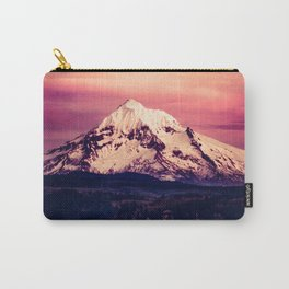 Mt Hood Mountain with Snow Carry-All Pouch