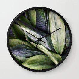 Green Jungle Wall Clock