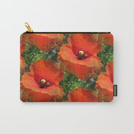 Poppy Power Carry-All Pouch