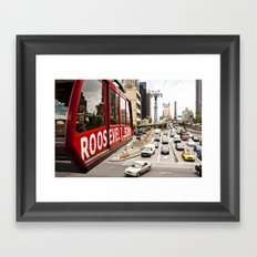 Roosevelt Island Sky Lift. New York City. Framed Art Print