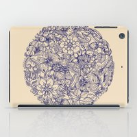 circle iPad Cases featuring Circle of Friends by micklyn