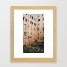 #fromthefacingwindow Framed Art Print