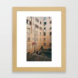 #fromthefacingwindow Framed Art Print