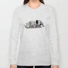 Rhino Slumber Long Sleeve T-shirt