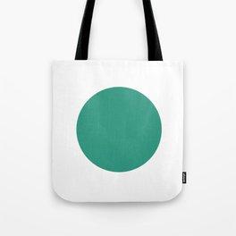 Go | Green Circle Tote Bag