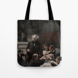 Thomas Eakins - Portrait of Dr Samuel D Gross (The Gross Clinic) Tote Bag