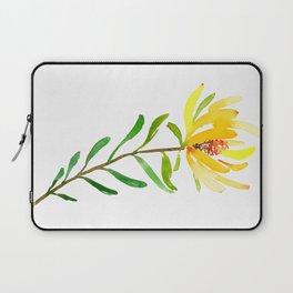 Golden Conebush Laptop Sleeve