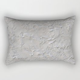 Stucco Cement Plaster Texture Rectangular Pillow