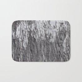 White Barn Wood Bath Mat