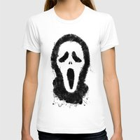scream T-shirts featuring Scream by Bill Pyle