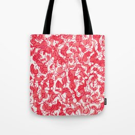 Pink Painting Tote Bag
