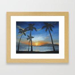 postcard Framed Art Print
