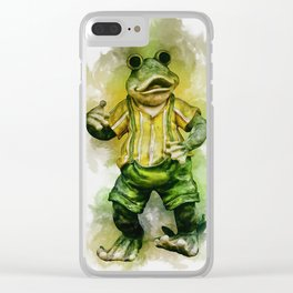 Frog Clear iPhone Case