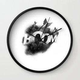 ONMTP - BIG BOOM Wall Clock