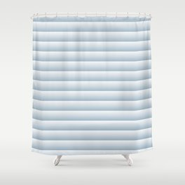 Simple striped pattern. Shower Curtain