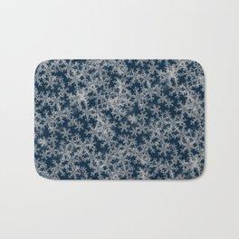 Deep Blue Snow Bath Mat