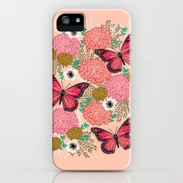 Monarch Florals by Andrea Lauren  iPhone Case