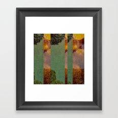 a slice of sunshine Framed Art Print