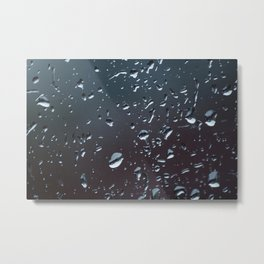 One Of Those Days - The Window Metal Print