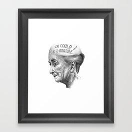 MI VIDA A SIDO EXTRAORDINARIA SERIES 2# Framed Art Print