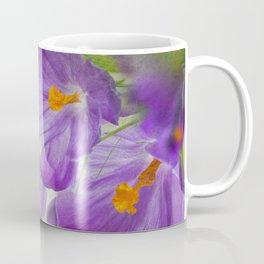 Purple flowers Coffee Mug