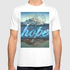 HOPE (1 Corinthians 13:13) MEDIUM Mens Fitted Tee White