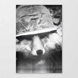 War is Hell Canvas Print