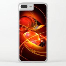 Feuertanz Clear iPhone Case