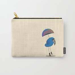 Walking in The Rain Carry-All Pouch