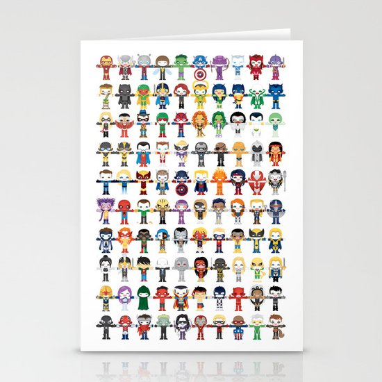 THE ULTIMATE 'AVENGER'S' ROBOTIC COLLECTION Stationery Cards