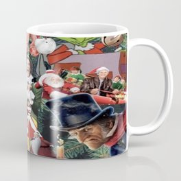 christmas movies collage Coffee Mug