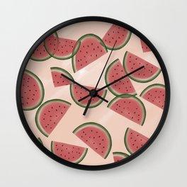 Watermelony Wall Clock