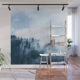 The Wilderness, Foggy Forest Wall Mural