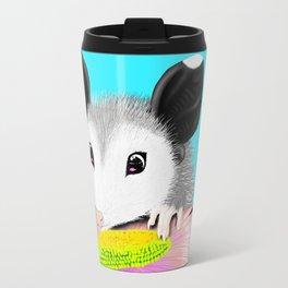 Blossom the Opossum Travel Mug