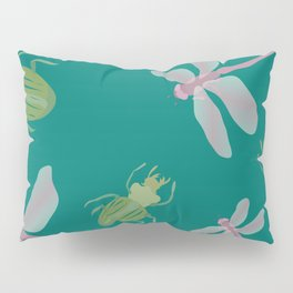 Dragonflies and Bugs Pillow Sham