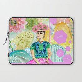a dream of Frida Laptop Sleeve