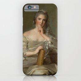 Princess Anne-Henriette of France - The Fire by Jean-Marc Nattier iPhone Case