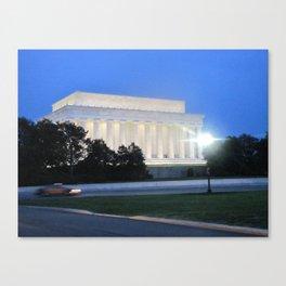 The Lincoln Memorial Canvas Print