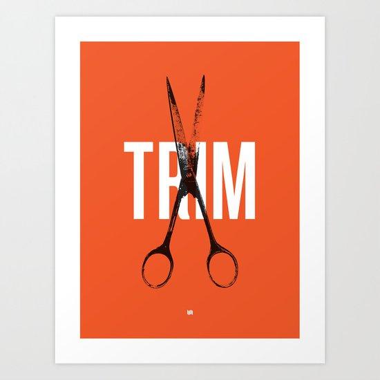 Barbershop Design Ethos / Trim Art Print