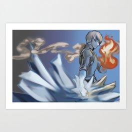 Shoto's Balance Art Print