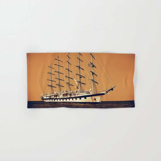 Old Ship Hand & Bath Towel