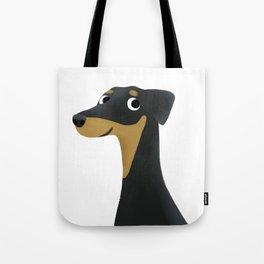 Doberman - Cute Dog Series Tote Bag