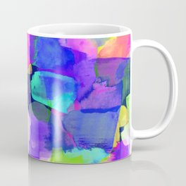 Brushstroke Blue Coffee Mug