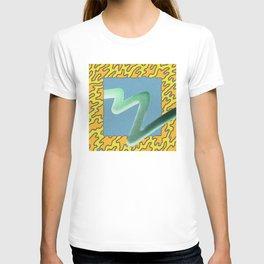 wave particle bounce T-shirt