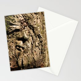 Face on a Tree Stationery Cards