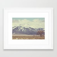 colorado Framed Art Prints featuring Colorado by Amy Harlow